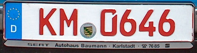Kenteken Duitsland